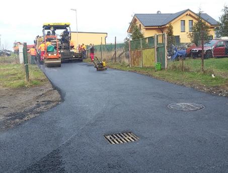 Rekonstrukce místní komunikace v obci Obořiště